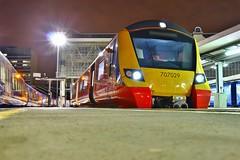 South Western Railway 707029 - London Waterloo (KA Transport Photography) Tags: south western railway 707029 london waterloo