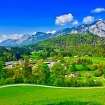 Tyrolean landscape in Spring near Kufstein, Austria thumbnail
