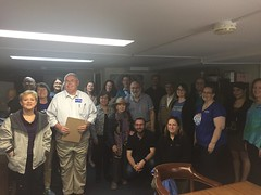 """Alexandria Democratic Committee canvass launch • <a style=""""font-size:0.8em;"""" href=""""http://www.flickr.com/photos/117301827@N08/26933097457/"""" target=""""_blank"""">View on Flickr</a>"""