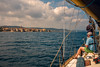 Landfall.... (Dafydd Penguin) Tags: harbour harbor port town golfe de saint tropez cote dazure yacht yachting sailboat sail sailing people cruising cruise coasting coast sea water leica m10 summicron 35mm f28 asph