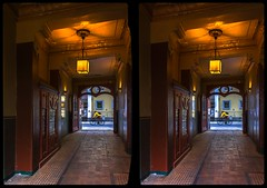 Kunsthofpassage 3-D / CrossView / Stereoscopy / HDRaw (Stereotron) Tags: saxony sachsen dresden elbflorenz neustadt kunsthofpassage architecture artnouveau jugendstil belleepoque europe germany deutschland crosseye crossview xview pair freeview sidebyside sbs kreuzblick 3d 3dphoto 3dstereo 3rddimension spatial stereo stereo3d stereophoto stereophotography stereoscopic stereoscopy stereotron threedimensional stereoview stereophotomaker stereophotograph 3dpicture 3dimage twin canon eos 550d yongnuo radio transmitter remote control synchron kitlens 1855mm tonemapping hdr hdri raw availablelight