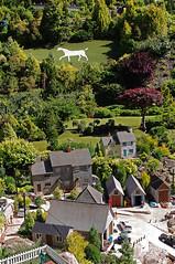 D13161.  White Horse. (Ron Fisher) Tags: babbacombe modelvillage babbacombemodelvillage devon southdevon england europe gb greatbritain uk unitedkingdom pentax pentaxkx westofengland thewestcountry westcountry