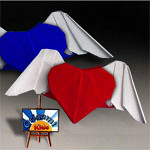 Origami Heartwings by Nguyen Hung Cuong
