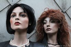 Rootstein Bar belles Roxana and Alison (dollsvillage) Tags: rootstein bb11 bb9 roxanna alison doll dummy mannequin mannikin schaufensterpuppe dollsvillage