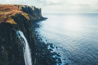 Kilt Rock Cliffs.