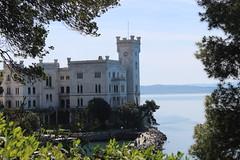 Castle (giovanni_vaccaro) Tags: castle castello miramare castellodimiramare travel friuli friuliveneziagiulia italia italy mare sea colors alberi trees canon canon1300d canon1855 green