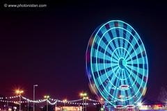Electric Color of Giant Wheel (Photonistan) Tags: giantwheel nightphotography longexposure nikon photonistan photography nightshots night fare