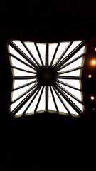 Skylight @ St. Paul (joeclin) Tags: northamerica america newyork ny longisland li nassaucounty oysterbay brookville jericho indoor color amateur 2010s skylight silhouette iphoneography iphone appleiphone7 churchofstpaultheapostle architecture joelin joeclin