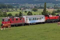 Messzug 97418 T.hun G.B - O.stermundigen unterwegs zwischen Gümligen und Rubigen im Kanton Bern der Schweiz (chrchr_75) Tags: christoph hurni schweiz suisse switzerland svizzera suissa swiss chrchr chrchr75 chrigu chriguhurni chriguhurnibluemailch albumzzz201805mai mai 2018 sbb lokomotive aem 940 hersteller alstom elektrolokomotive triebfahrzeug thermisch zweikraftlokomotive albumbahnenderschweiz albumbahnenderschweiz20180106schweizer bahnen bahn eisenbahn train treno zug juna zoug trainen tog tren поезд паровоз locomotora lok lokomotiv locomotief locomotiva locomotive railway rautatie chemin de fer ferrovia 鉄道 spoorweg железнодорожный centralstation ferroviaria