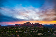Airport Mesa Vortex I - Sedona 2018 (Dino Sokocevic) Tags: tamron tamronusa southwest mefoto arizona az sunrise outdoors ultrawide sedona vortex clouds