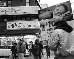 Canal Street (Zach K) Tags: chinatown nyc new york city bw black white canal street st manhattan lower manahttan body work fujifilm fuji x100f wclx100