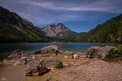 Langbathsee (Claudia Brockmann) Tags: natur nature berge berg mountain mountains himmel sky water wasser see sea langbathsee vordererlangbathsee austria österreich langzeitbelichtung longexposure steine stein stone stones