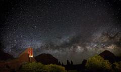 IMG_7044.jpg (Greg Meyer MD(H)) Tags: night landscape church sky stars things milkyway cross sedonaarizona longexposure drama chapel