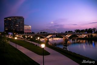 Downtown Columbus Ohio.