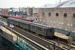Lo-V Nostalgia Ride (CrispyBassist) Tags: railroad railway train track transit subway lov irt interboroughrapidtransit bronx nostalgiaride nytransitmuseum newyorkcity newyork newyorkcitysubway newyorkcitytransit nyc nyct nycta clerestorycoachusstock newyorksubway 100yearsold lowvoltage nycmta5290 nycmta5292 pullman