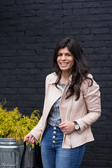 blush leather moto jacket, button fly jeans, cheers tee-5.jpg (LyddieGal) Tags: athleta matine mejuri naturalizer black blush danielwellington denim fashion gap grey jcrew outfit scalloped spring style wardrobe watch weekendstyle