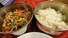Food (Sandy Austin) Tags: panasoniclumixdmcfz70 sandyaustin westauckland auckland northisland newzealand food jackfruit sweet dessert tropical thai rice