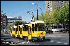 6008-2007-05-01-1-Herzbergstraße (steffenhege) Tags: berlin bvg tram tramway strasenbahn streetcar kt4dm 6008 ckd