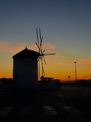 🌅🌅 (fragiskas) Tags: greece colorful colors windmill warm sunsetpics sunset paros