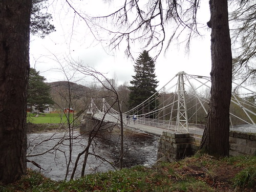 Crathie, Suspension Bridge 2
