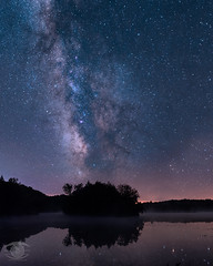 Reflections from Eternity (revisited) (Dark Arts Astrophotography) Tags: astrophotography astronomy night nightscape landscape lights space sky stars milkyway galaxy