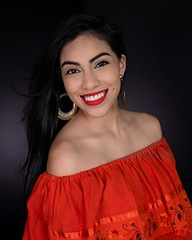 Isamar (Sharon G Vaughn known as Viva Forza Photography) Tags: beauty garcia heritage hispanis isamar natural redros romance white black blackhair headshot