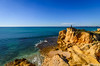 Fisching at the edge 858 (_Rjc9666_) Tags: algarve beach coastline colors fischerman landscape nikond5100 people pessoas portugal praia rockformation sea seascape sky tokina1224dx2 praiadolourenço ©ruijorge9666 guia faro pt 2145 858