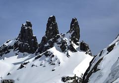 Los tres Hermanitos. (Tomás Martín.) Tags: gredos montaña invierno nieve hielo alpino