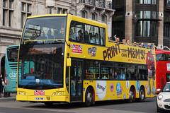 Original London - YJ11 TVW (peco59) Tags: yj11tvw volvo b9tl b9 optare opentopbus psv pcv originallondon ratp vxe735