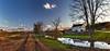 8R9A1001-04Ptzl1scTBbLGER2 (ultravivid imaging) Tags: ultravividimaging ultra vivid imaging ultravivid colorful canon canon5dm3 clouds sunsetclouds scenic sky creek ducks barn farm fields water rural vista landscape lateafternoon evening twilight road