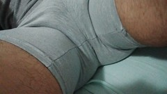 my bulge (bulgeman4) Tags: spandex shorts bulge package bulto calzas boxer underwear bike