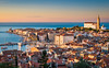 Adriatic Sunset (Michael Abid) Tags: piran slovenia skyline aerial panorama landmark city adriatic sea view famous istria boat harbor sunset venetian marina building historic architecture town harbour port mediterranean coast cityscape