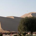 The dunes at Dunhuang thumbnail