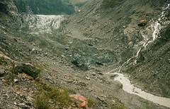 Fox Glacier (clavain1) Tags: fox glacier contax g2 kodak 400nc portra zeiss 3570