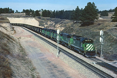 BN SD40-2 7940 (Chuck Zeiler) Tags: bn sd402 7940 railroad emd locomotive belmont train jimaltman chz