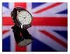 Re-shoot (johnhjic) Tags: johnhjic watch hasselblad x1d broncolor siros flash studio flag reflection time brown white red blue bremont automatic stainless steel chronometers chronometer english uk