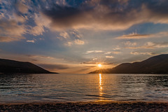 Sunset (Vagelis Pikoulas) Tags: sun sunset sunburst sunshine porto germeno greece europe travel holidays beach landscape sea seascape tokina 1628mm view sky skyscape clouds cloudy cloud cloudscape canon 6d may 2018 spring