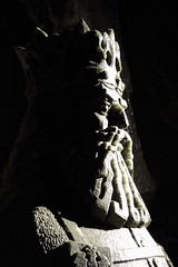 King of the Caves (Treflyn) Tags: wieliczka saltmine statue king kazmierz lordoftherings carved salt mine poland