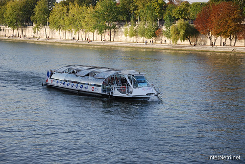 Париж Сена InterNetri  France 117