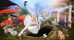 Down the Rabbit Hole (Duchess Flux) Tags: enchantment blush zero argrace eudora3d 1313 skinnery catwa warpaint shinystuffs poseidon moonsha raindale aliceinwonderland secondlife fairytale sl