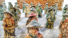 Clay soldiers.. (hoangbinhboong) Tags: clay miniature soldiers army art hoian vietnam