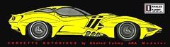 """Retro Corvette concept - """"Notorious"""" (Khaled Fahmy : Auto design) Tags: 2017 2018 supercars hypercars ferrari laferrari 458 488 gtb p4 lamborghini countach aventador sv miura reventon veneno bugatti veyron pagani huayra zonda porsche carrera 918 917 vector w2 w8 corvette stingray 2016 mustang ford gt kyosho auto art minichamps 118 diecast delahaye delage osten jaguar mclaren m20 can am p1 f1 designer bertone pininfarina centenario mercedes amg red bull x2010"""