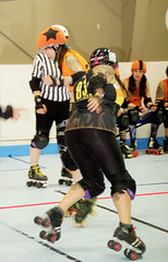 074 (Bawdy Czech) Tags: lcrd lava city roller dolls spit fires basin bombers bend oregon or skate wftda flat track april 2018 bout