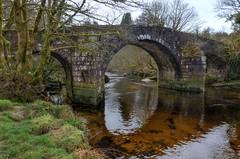 Hexworthy or Huccaby Bridge, Dartmoor (Baz Richardson (back on 26 May)) Tags: dartmoor riverwestdart huccabybridge devon bridges gradeiilistedbuildings 18thcenturybridges