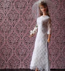 Vintage twist n' turn Barbie (RomitaGirl67) Tags: barbie twistnturnbarbie twistandturnbarbie tnt moderabarbie modbarbie bridalfashions barbieclonedress