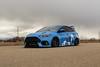 Ford Focus RS on TSW Mosport concave wheels - 2 (tswalloywheels1) Tags: bagged air suspension camo wrap blue ford focus rs mk3 tsw mosport concave aftermarket wheel wheels rim rims alloy alloys
