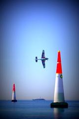 Redbull Air Race Cannes France 01 (Navis06) Tags: avion plane course race bleu blue mer cannes france croisette plage beach frenchriviera redbull