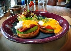 "Eggs Benedict (DocAdvert) Tags: ""saucehollandaise"" salmon iphoneography savory eggs docadvert ollikramp food breakfast ""eggsbenedict"""