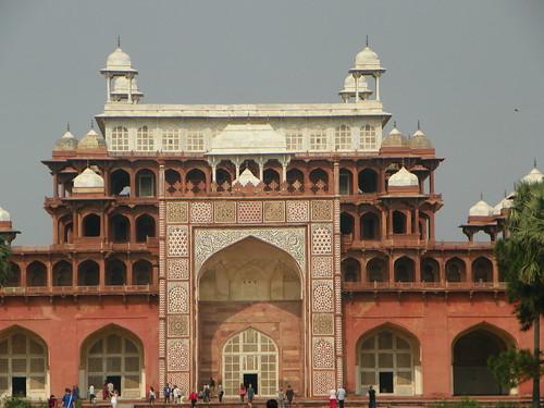 Agra 87 - Akbar's tomb