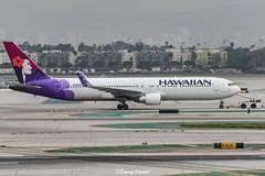 N588HA @LAX (thokaty) Tags: n588ha hawaiianairlines b767 b7673cber eis2002 lax